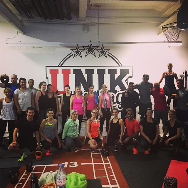 Todays full house @ UNIK's base 💪🏼😍 thanks for the great training! 💥