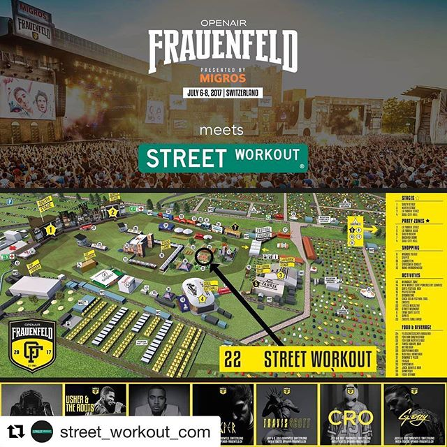 Check this out! Place to be @openairfrauenfeldofficial !! Street Workout by @street_workout_com! #Repost @street_workout_com (@get_repost) ・・・ Street workout Meets Openair Frauenfeld @openairfrauenfeldofficial  #oaf17 #openairfrauenfeld #readyforoaf17 #switzerland #openair  #rap #hiphop #streetworkout #workout #streetworkoutswitzerland #streetworkoutpark #parks #urban #freestyle #lifestyle #health #bodyweighttraining #outdoorgym #bars #barlife #calisthenics #strength #power #fit #fitness #motivation #citylife #instafit #sports
