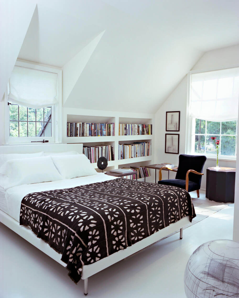 Gallery betsy brown Bookshelves in bedroom ideas