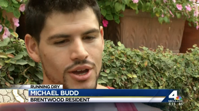 A new app allows people to post pictures to shame neighbors into conserving water. Hetty Chang reports from Brentwood for the NBC4 News at 5 p.m. on Friday, July 25, 2014. (Published Friday, July 25, 2014)
