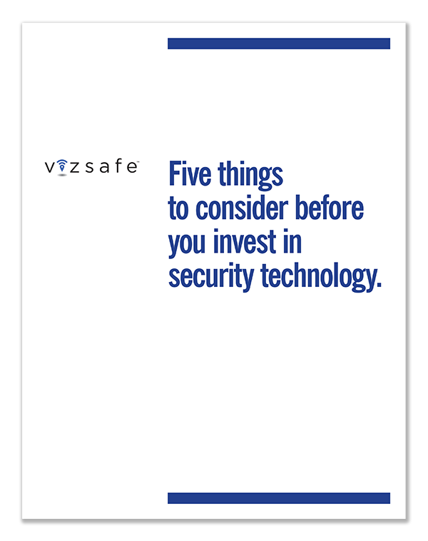 VIZSAFE five things White Paper download