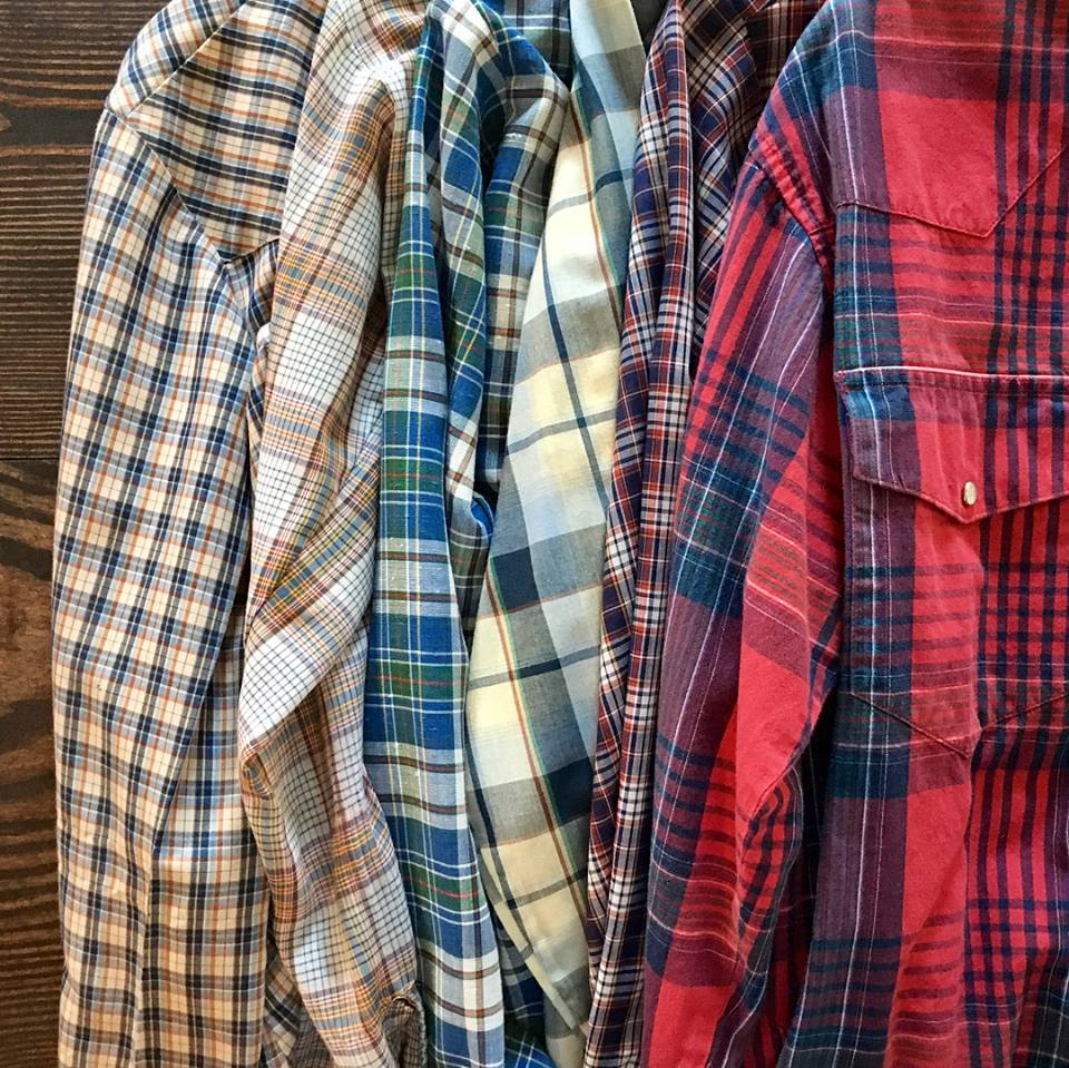 2. Plaid flannels -