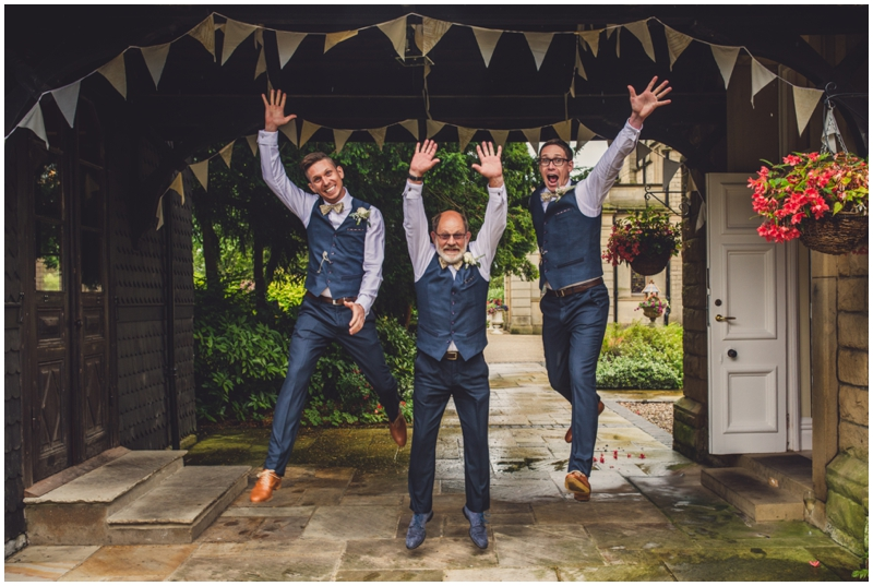 wedding jumping picture