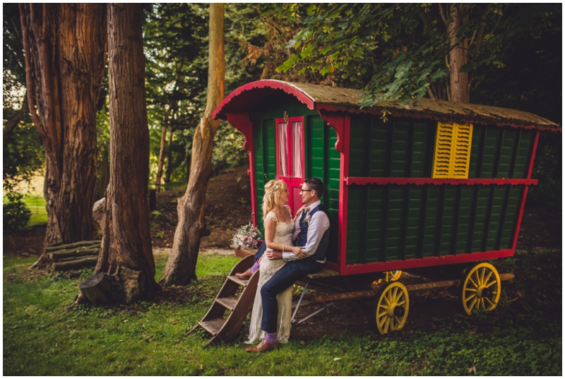 gypsy caravan wedding