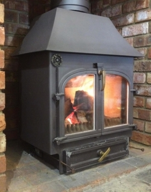 mar 2 2016 traditional multifuel 12kw large colours clearview canopy boiler mdavies ltd - Traditional Canopy 2016