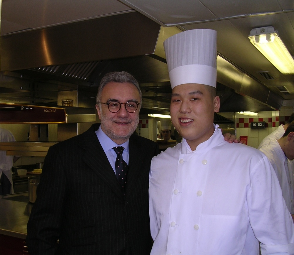 Chef Alain Ducasse Plaza Athenee Paris
