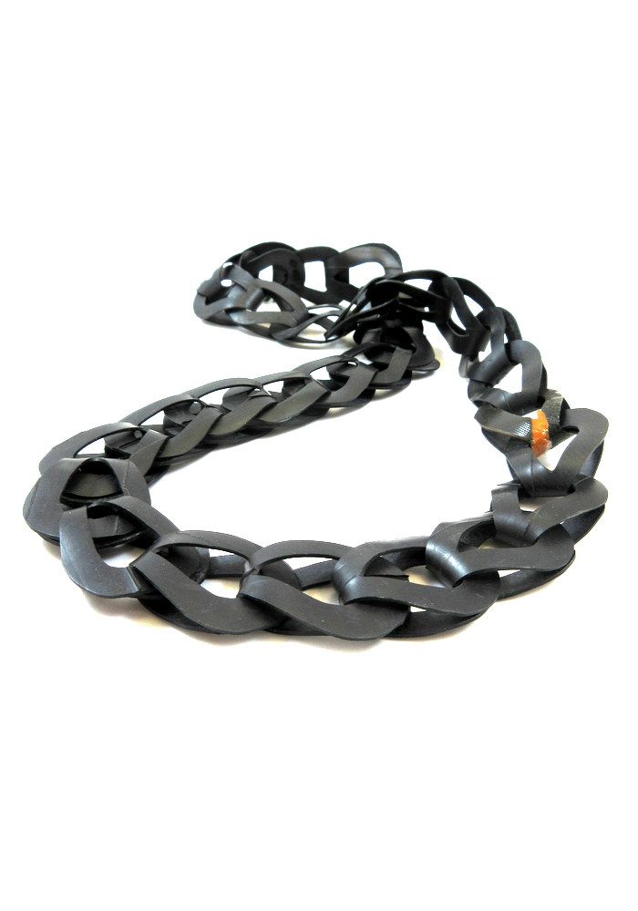 recycled rubber chain necklace (9).JPG