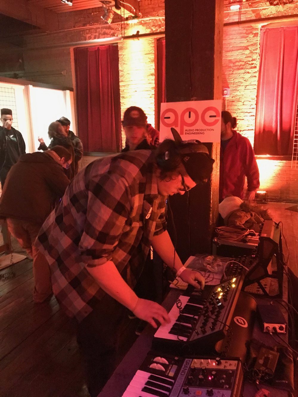 APE MOOG Lab at the Concourse -