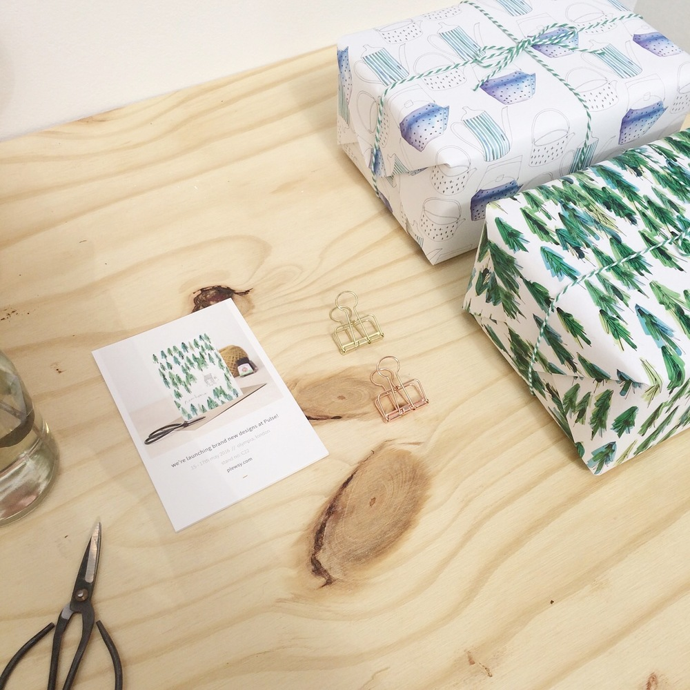 be green gift wrap