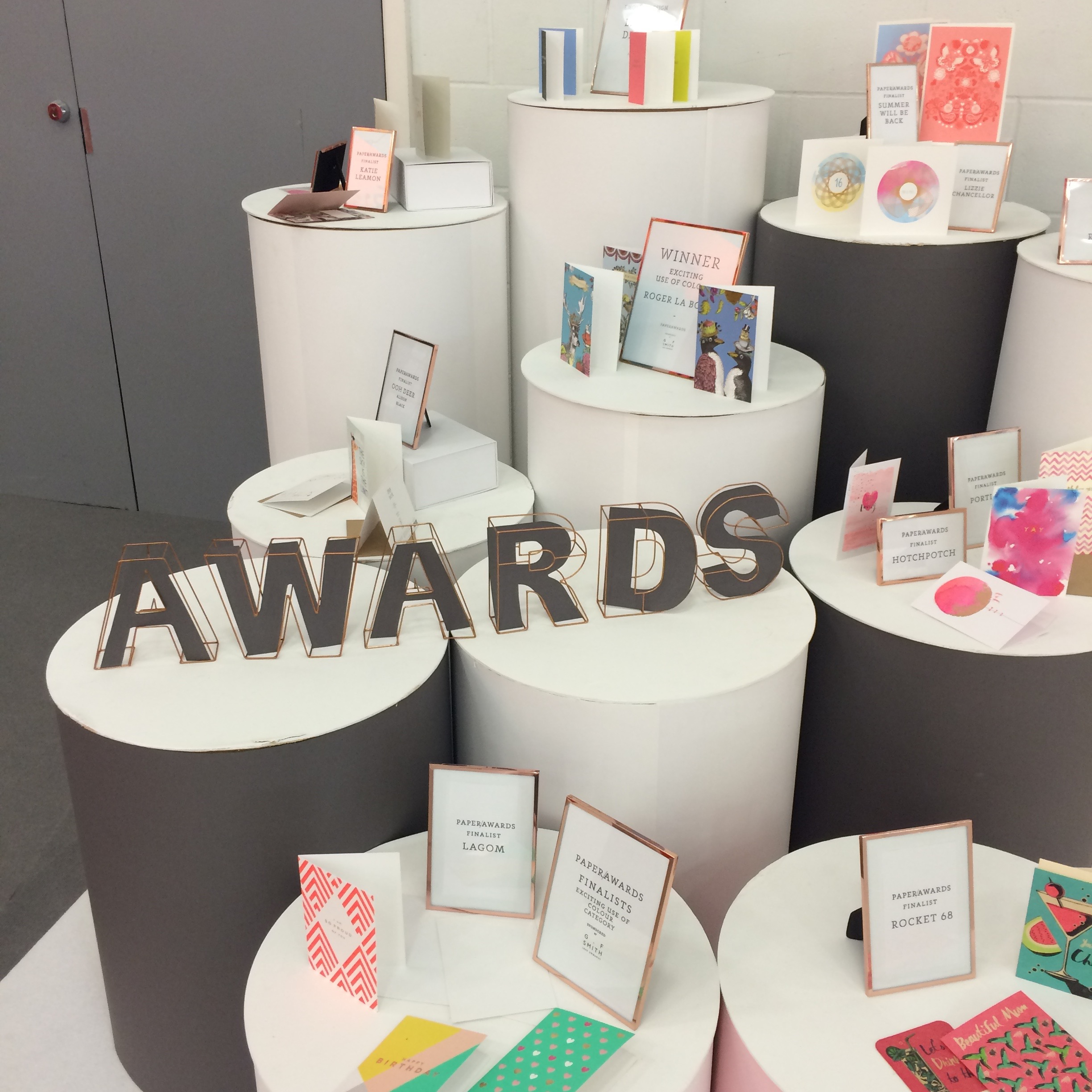 paperfest awards top drawer