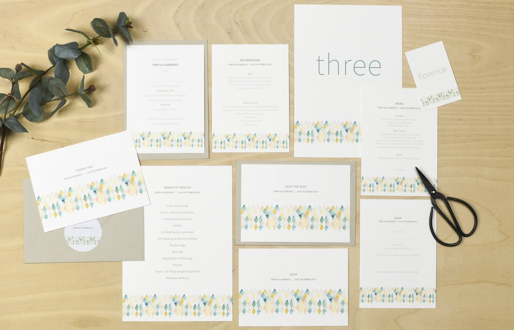 plewsy wedding stationery
