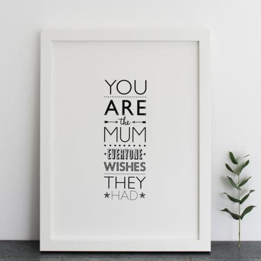 Ros Shiers Mum Print | ros-shiers.com
