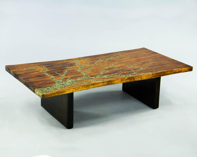 Custom Slab Coffee Table