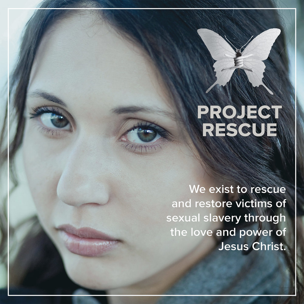 Project Rescue  exists to rescue and restore victims of sexual slavery through the love and power of Jesus Christ. Last year Project Rescue served over 37,000 women and children in eight countries. Learn more at  www.projectrescue.com .