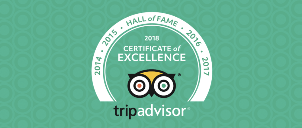 Milan Restaurant received in 2018 the HALL OF FAME from TripAdvisor for 5 years of Excellence for its meals and service provided to our customers.
