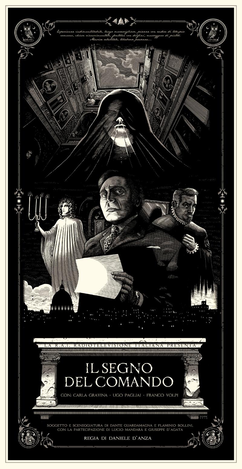 """Homage Poster for the Italian film """"Il segno del comando"""""""