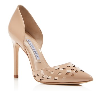 Charles David, Pointed Toe d'Orsay Pumps, $230