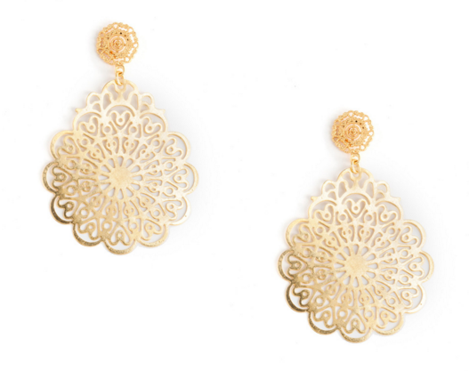 Lisi Lerch, Holly Earrings, $68