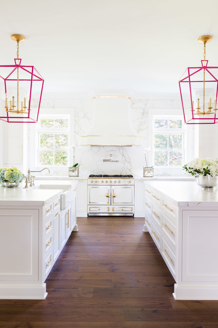 The White and Pink Kitchen of Our Dreams — LIBBY LIVING COLORFULLY