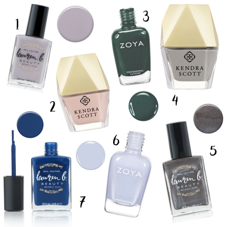 7 New Nail Colors for Winter — LIBBY LIVING COLORFULLY