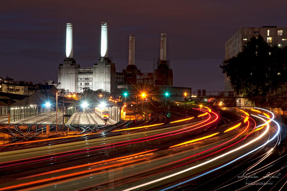 Battersea Light Trails
