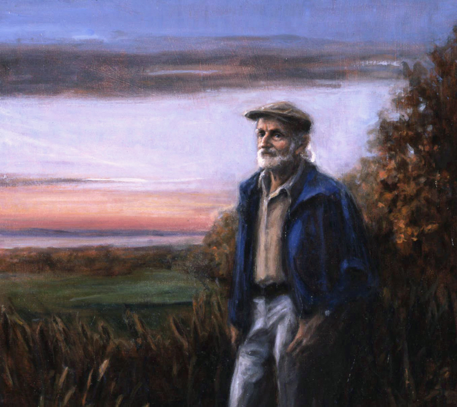 Dick Buegler at Cropsey's View