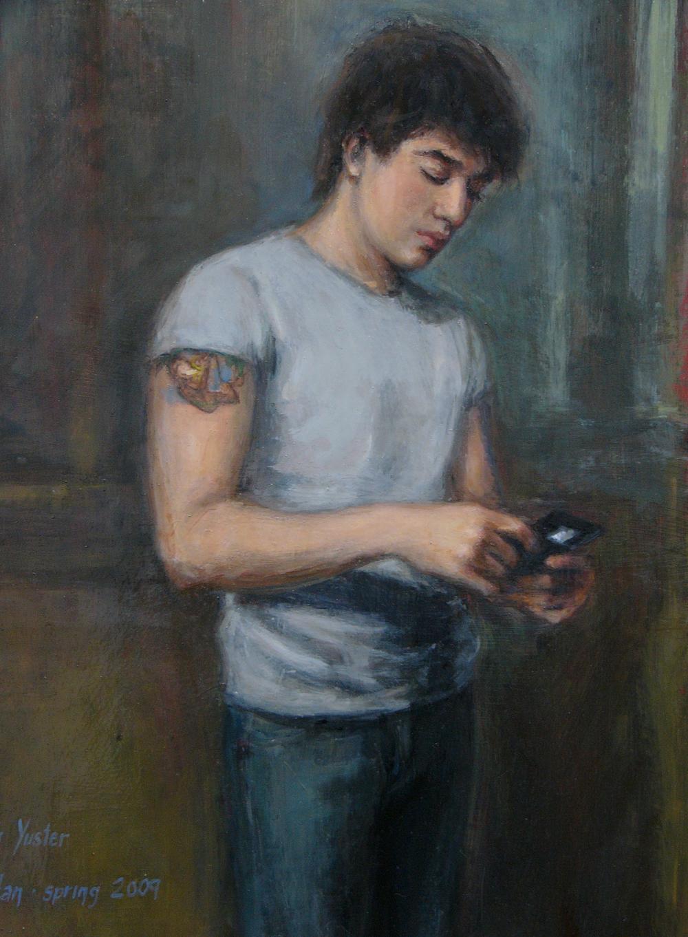 Ian at Eighteen