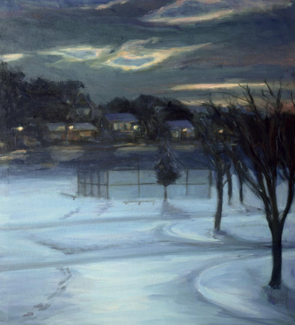 January Ballfield
