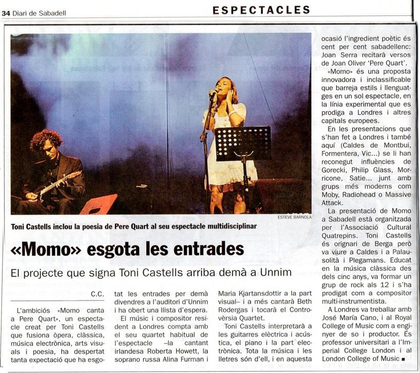 Diari de Sabadell (2010)