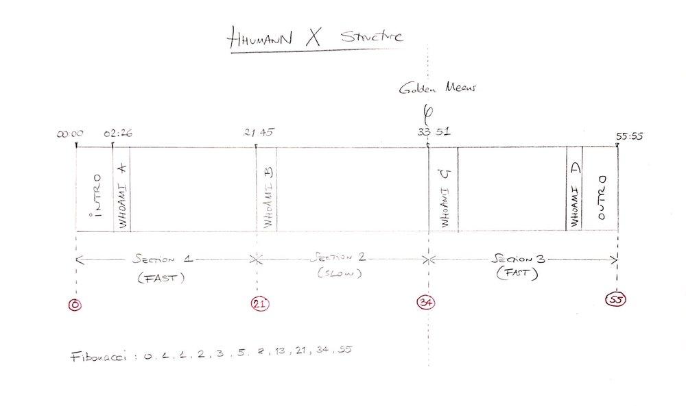 Hhumann X Structure