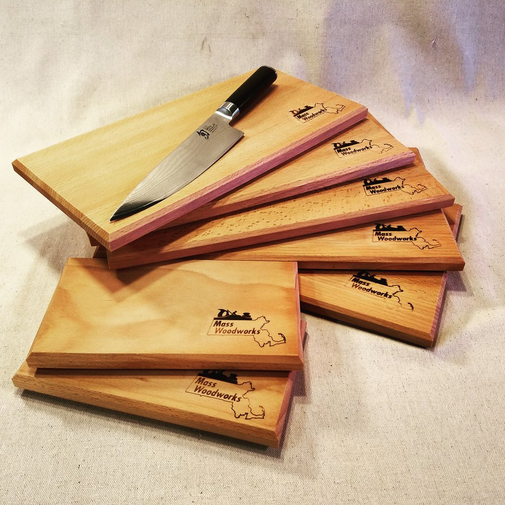 European Beech Cutting boards, Custom sizes available
