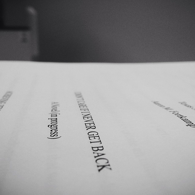 Thesis… Submitted. #vscocam