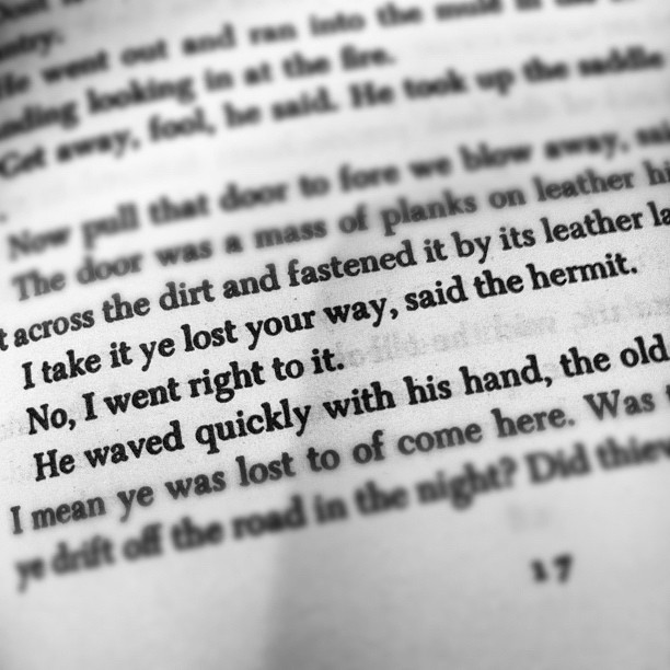 #cormacmccarthy #bloodmeridian (Taken with  instagram )