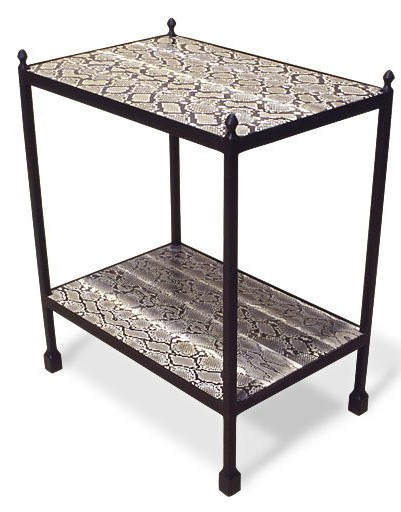 3091PY Etagere 2 Python Wrapped Shelves