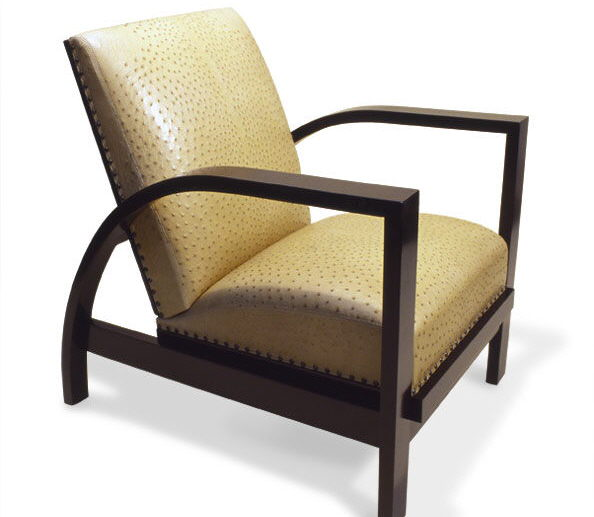5005O Sliding Club Chair Ostrich