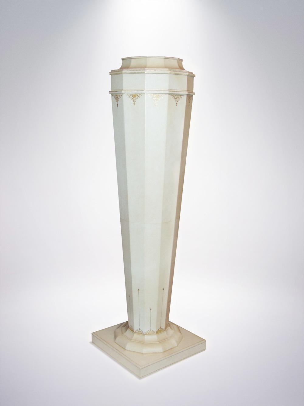 Gilded Pedestal