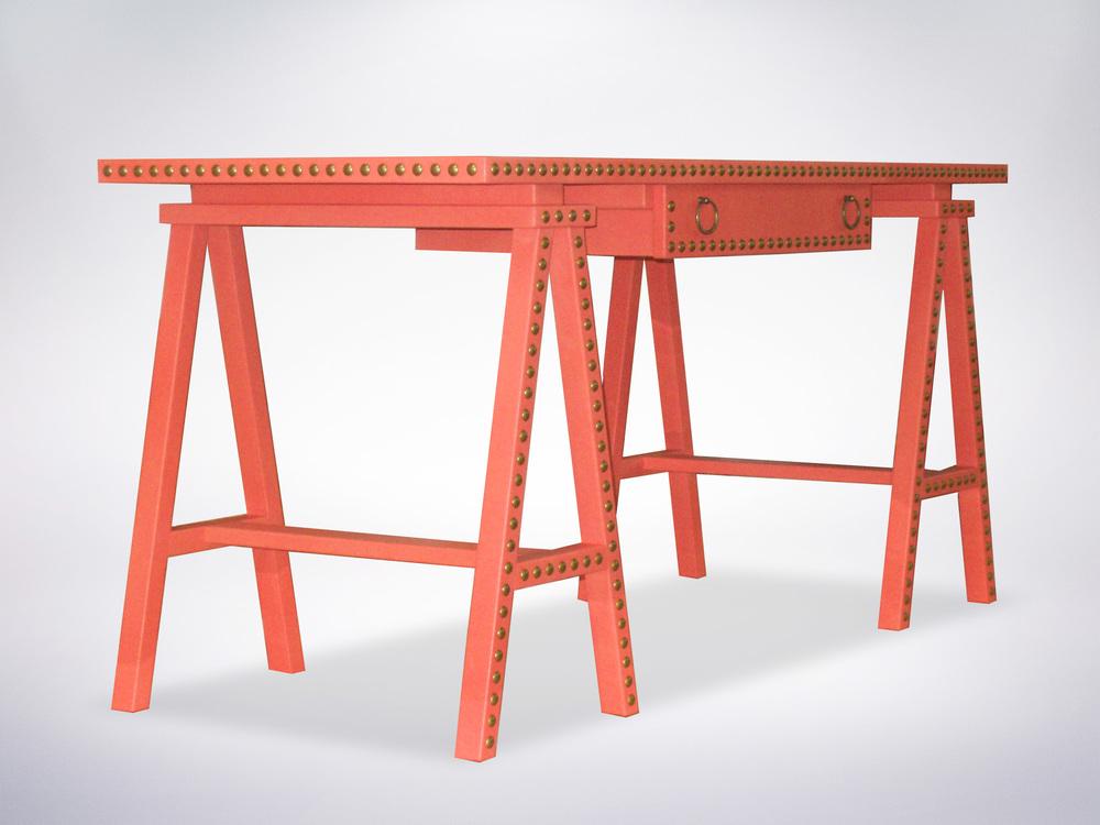 Workbench Style Desk