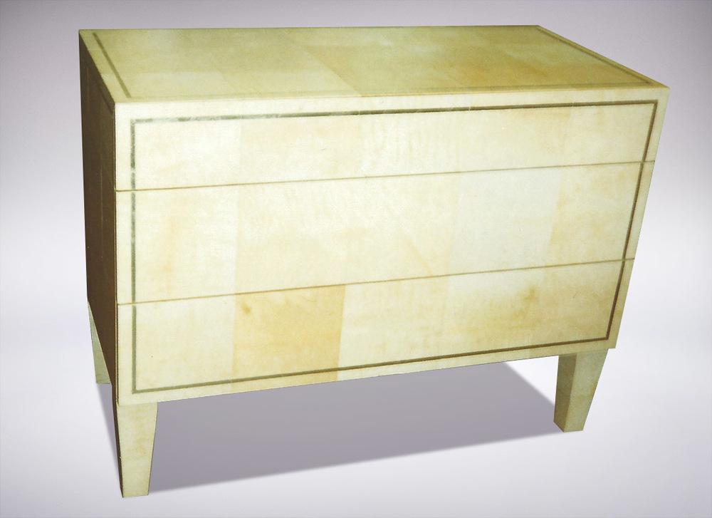 Gilded Dresser