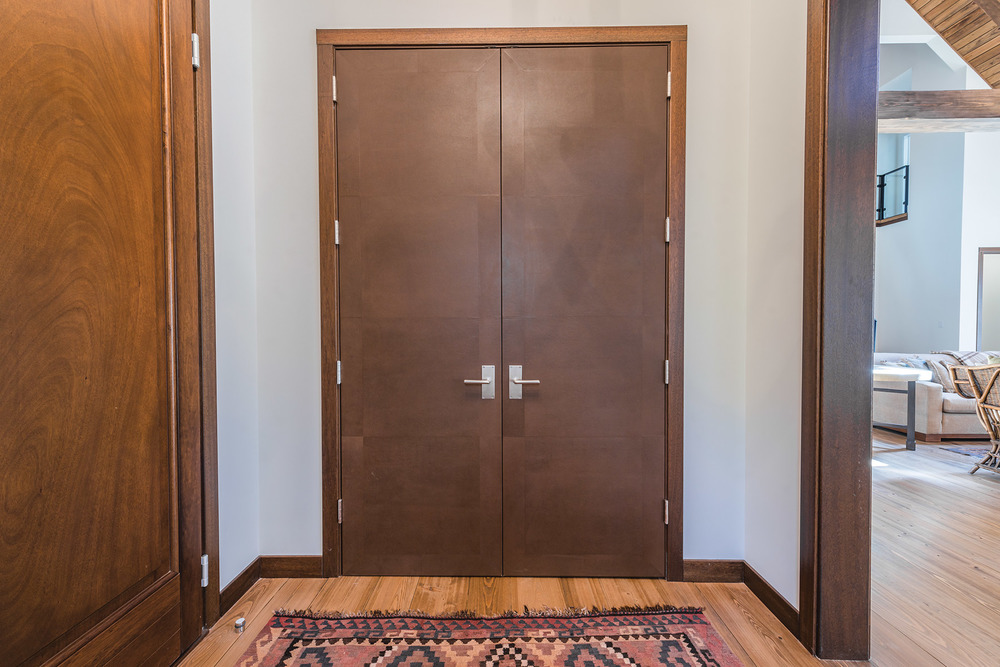 Leather Doors