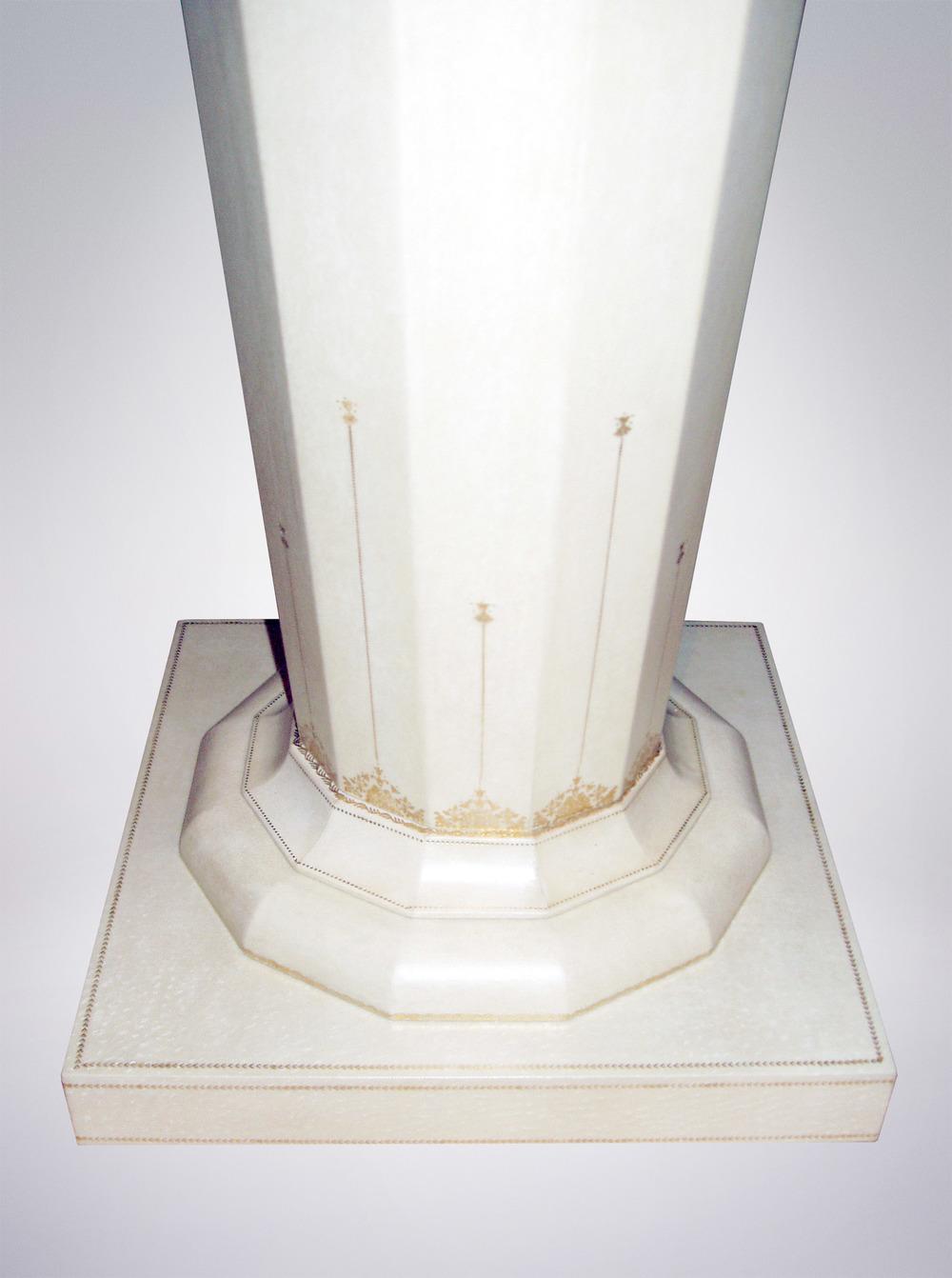 Gilded Pedestal Detail