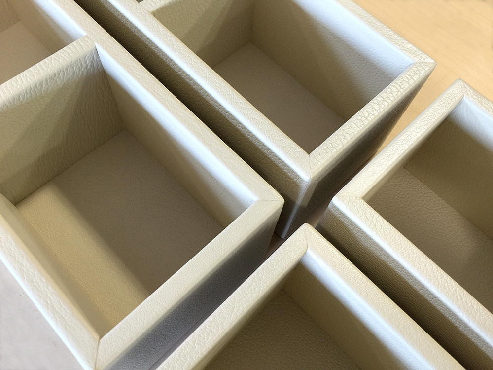 White Jewelry Trays