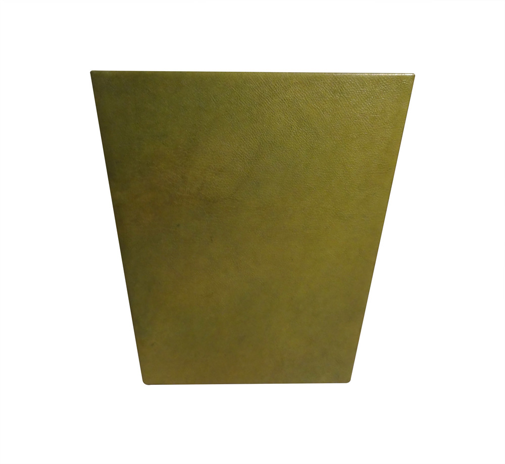 Green Goastskin Wastebasket side 2.jpg