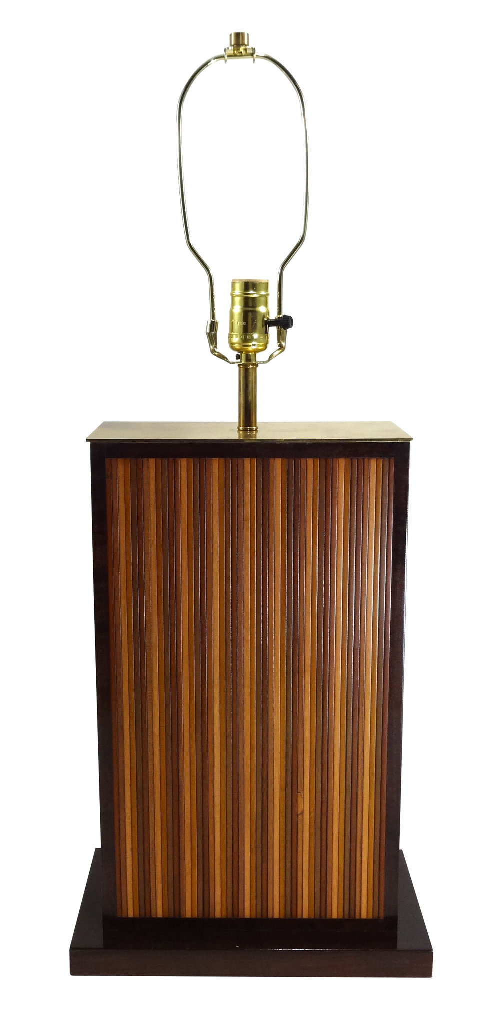 *Large Embossed Table Lamp