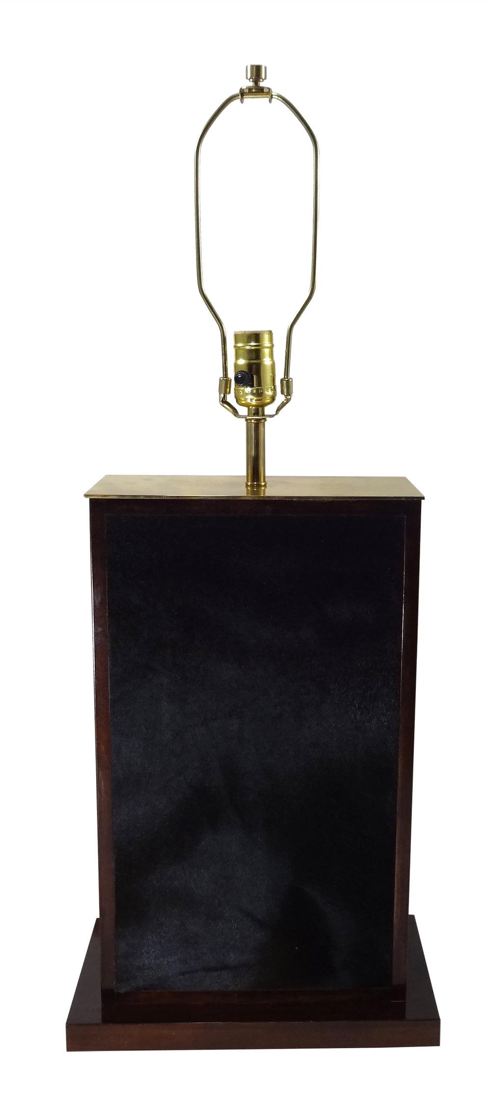 *Large Tetra Negra Table Lamp Brass