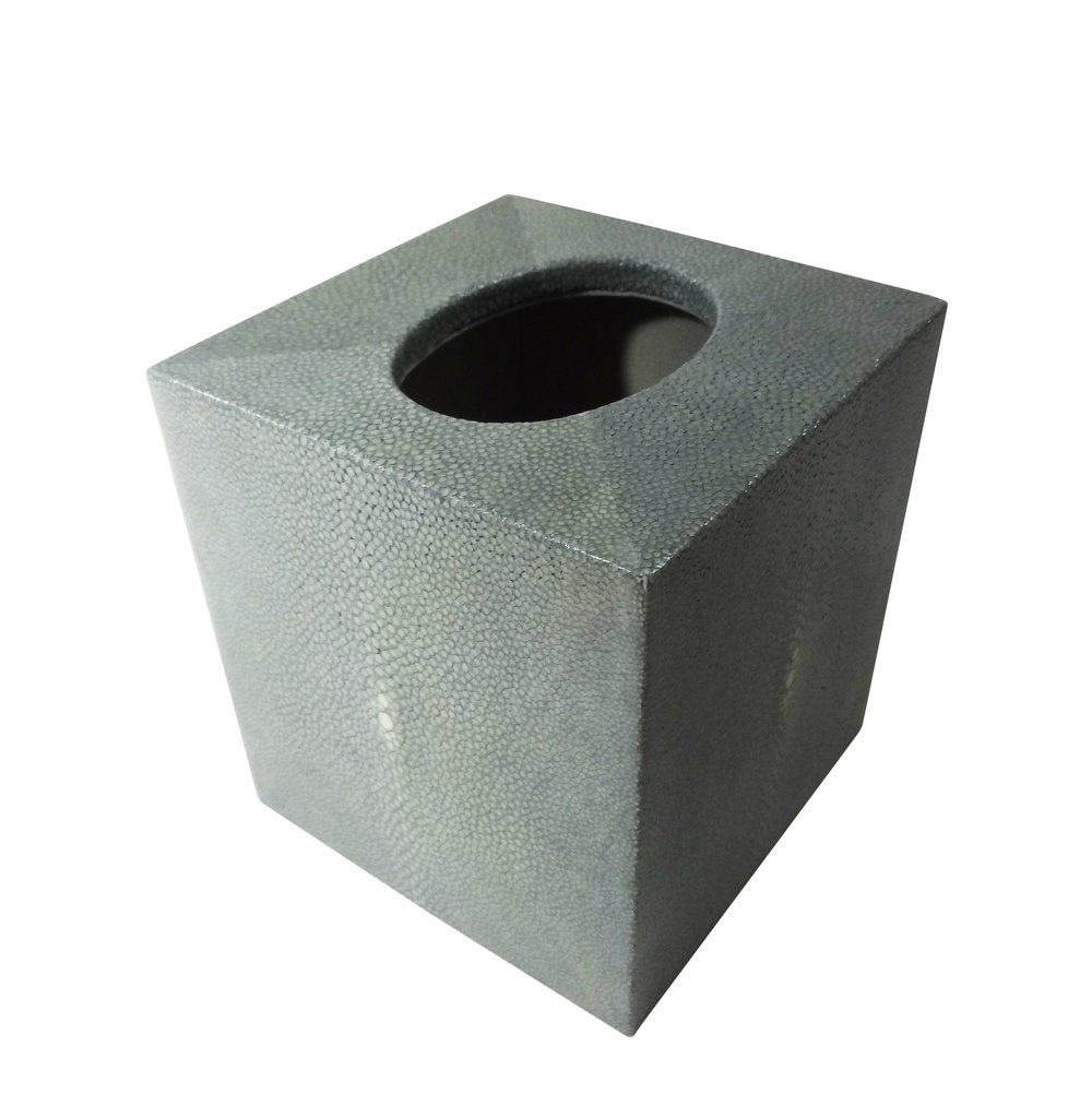 *Shagreen Boutique Tissue Box