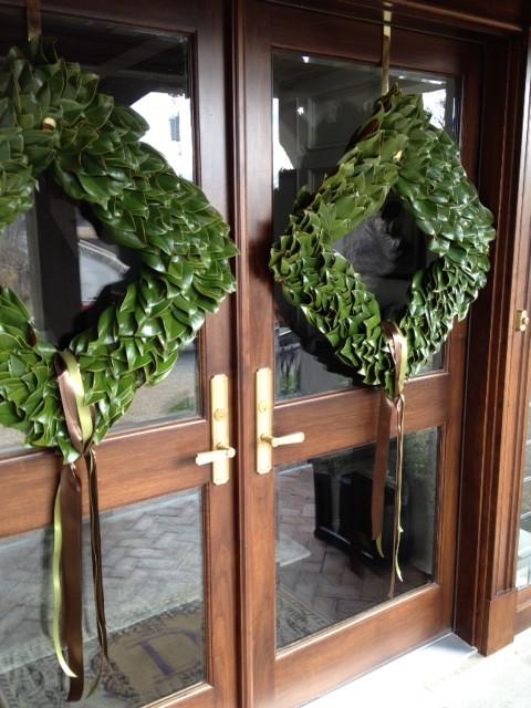 square magnolia wreaths