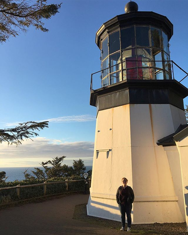Visited my first ever light house this past weekend! #pnwonderland #capemeares #oregoncoast
