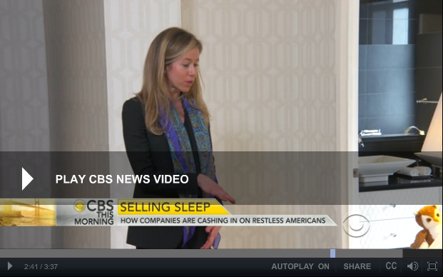 "Rebecca on CBS' ""This Morning"""