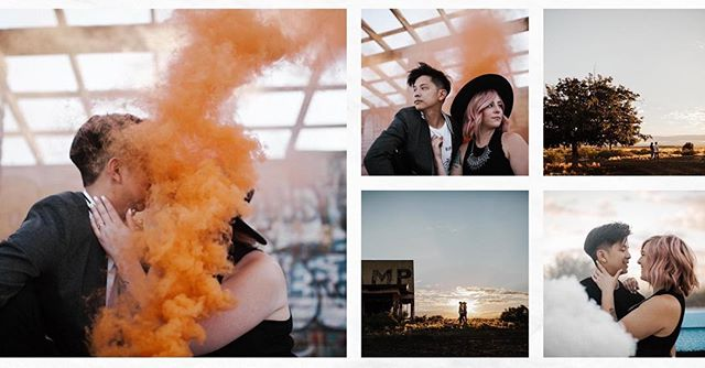 So excited for this wedding, love you both so much!  Photo credit: @jamieallio_  These photos are badass ✨🔥