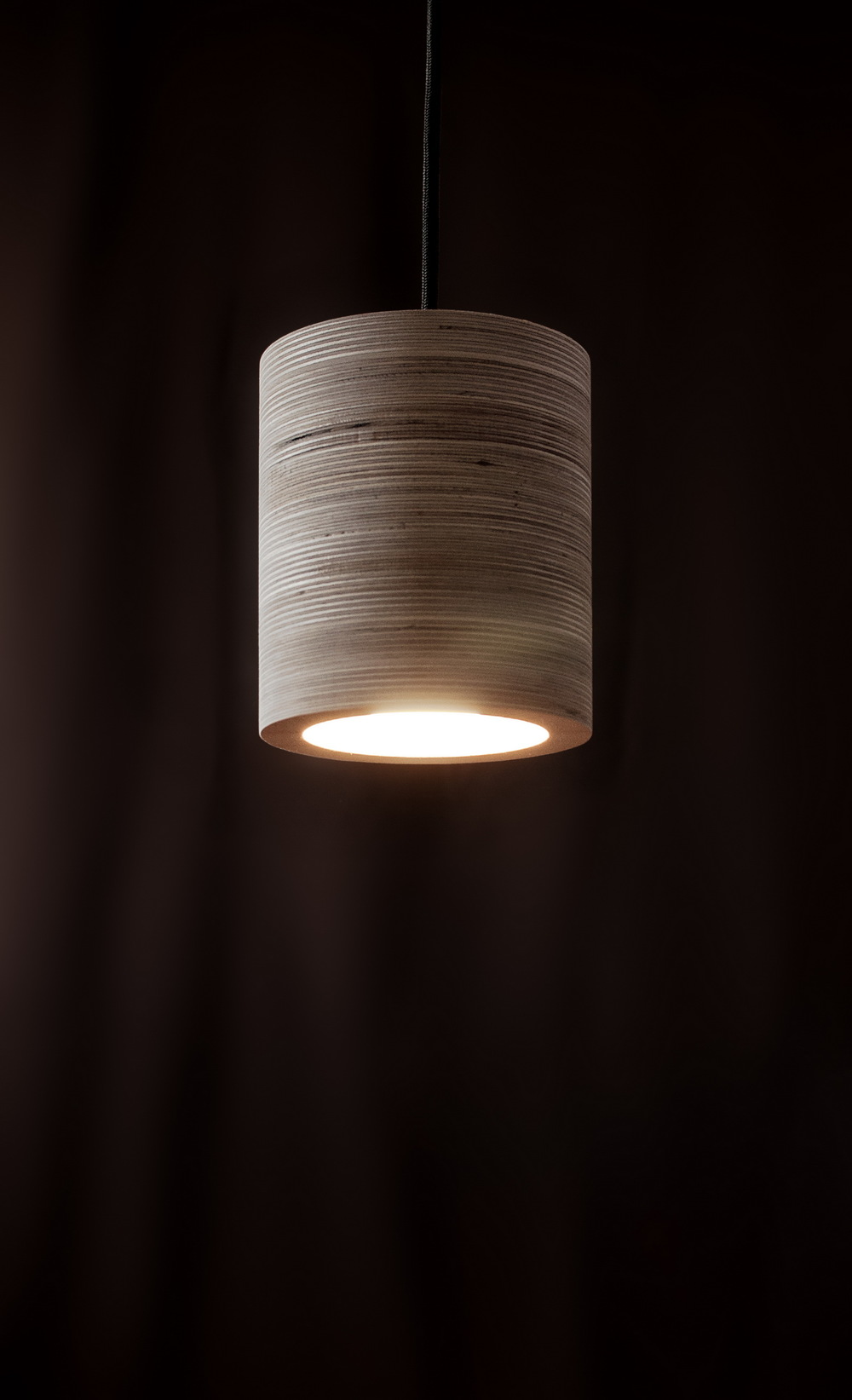 plywood lighting. Dimensions, Mm: 136d X 162h \u2013 Material: Plywood Socket: E27 Light Emitter: LED, 10W Max Cord Length: 1,5 M Weight: 1 Kg Lighting